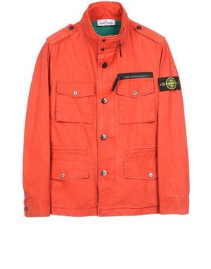 Stone Island Field Jacket in TELA STELLA 581543332