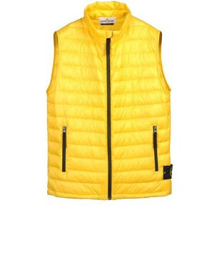 Stone Island Down Vest in MICRO RIP STOP 7 DEN / DOWN_PACKABLE 5815G0326