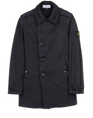 Stone Island Short trench coat in David-TC 581541449