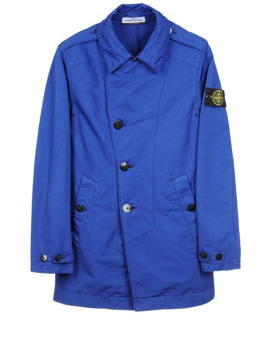 stone island short trench coat in david tc 581541449 archipelago fashion stone island shops. Black Bedroom Furniture Sets. Home Design Ideas