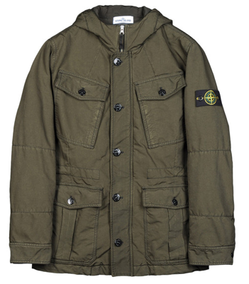 stone island parka in david tc 571542649 archipelago. Black Bedroom Furniture Sets. Home Design Ideas