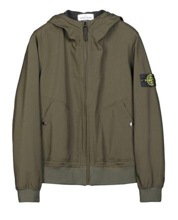 Stone Island Hooded jacket in SOFT SHELL - R 571540122 - Archipelago ...